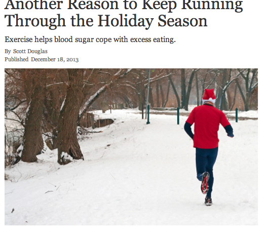 5b1d484493 Article: Another Reason to Keep Running Through the Holiday Season ...