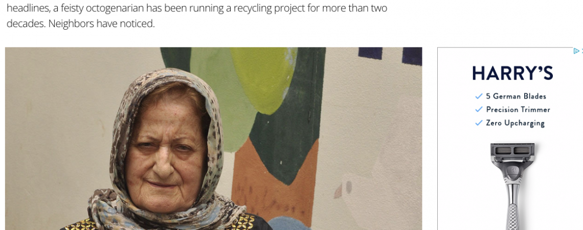 Article: Her Recycling Project Faced Long Odds in Lebanon. Still, She Persisted