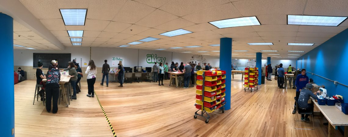 Pick'n Run using The Alley Makerspace